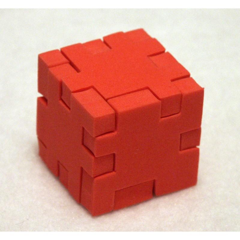 Elven Cube Gobelet de Cuir-Rouge