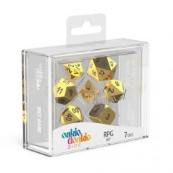 Metal Dice Set - Aurym
