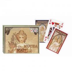 2 Jeux de 55 Cartes - Mucha...
