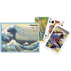 2 Jeux de 55 Cartes - Hokusai