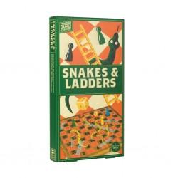 Snakes & ladders en bois...