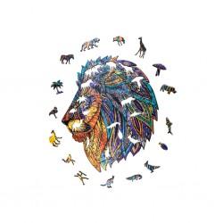 Lion légendaire, Boite bois