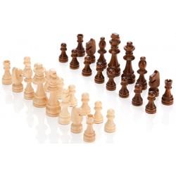 Set pions échecs en bois