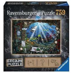 Puzzle 759P - Sous l'eau -...