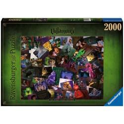Puzzle 2000P - All Vilains
